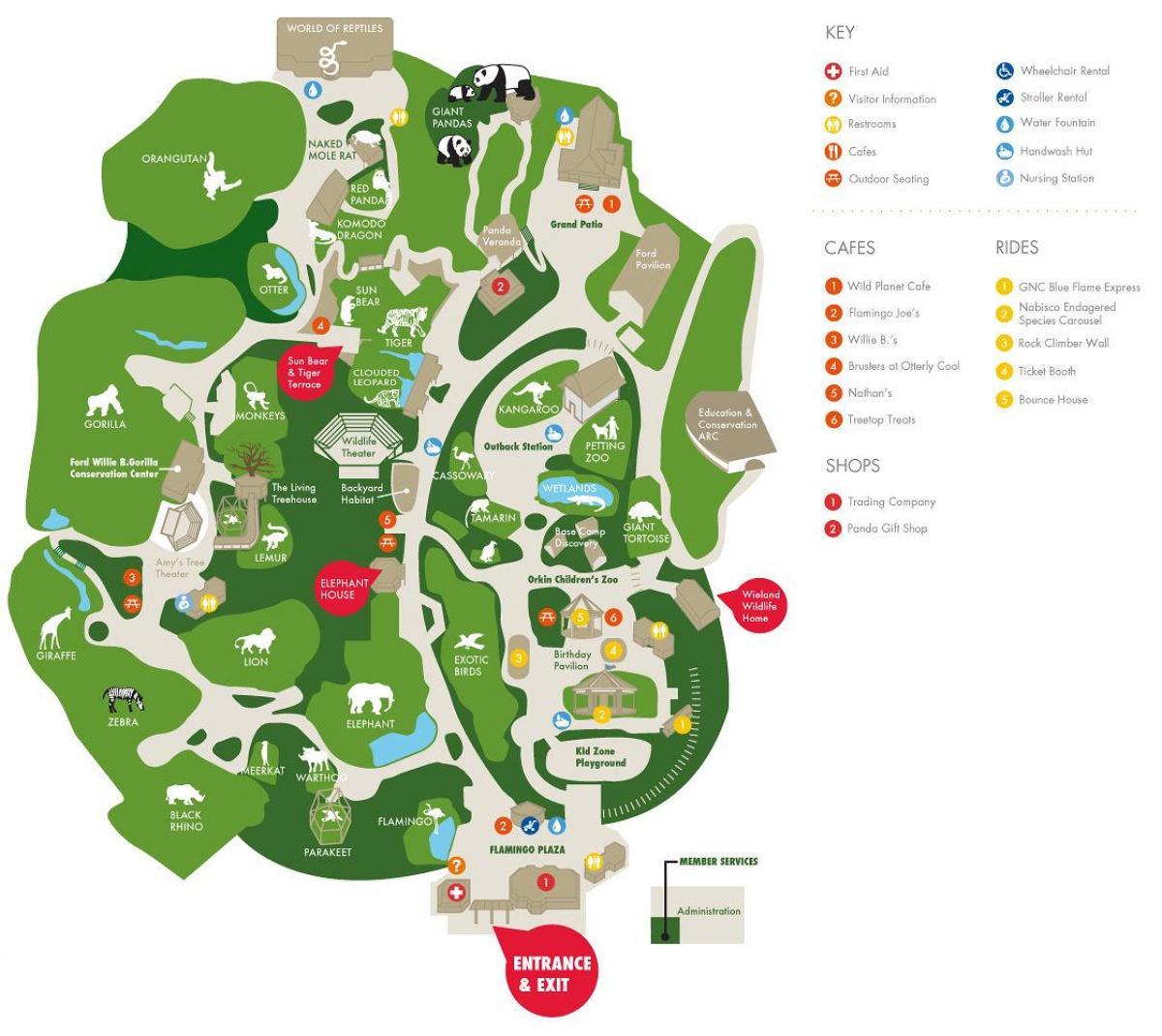 Zoo Maps on